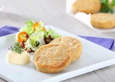 Mini burgers di filetti di salmone