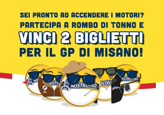 Rombo di Tonno – Vinci il GP di Misano