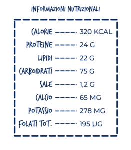 casarecce asparagi e tonno nostromo leggero tabella nutrizionale
